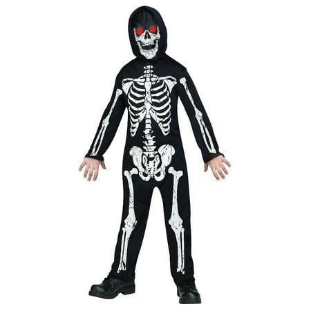 Rock Out Costume (Fade In Out Skeleton Phantom Child Costume -)