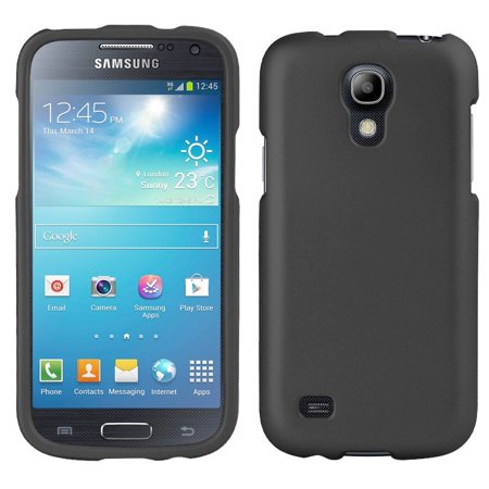 DARK GRAY RUBBERIZED HARD SHELL CASE COVER FOR SAMSUNG GALAXY S4