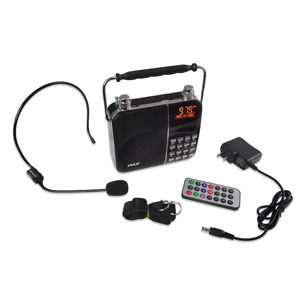 Pyle PWMA63 Portable Karaoke Radio & Pa Speaker Sy