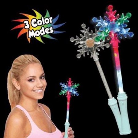 Snowflake Wand (Light Up Snowflake Wand)