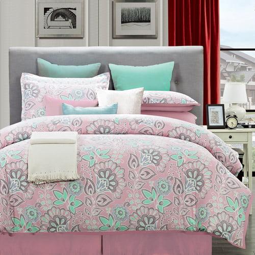 Flower Power Cotton Comforter Set