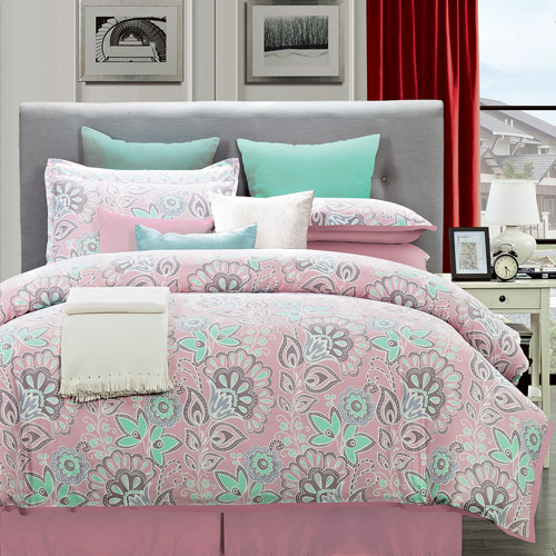 flower power cotton comforter set