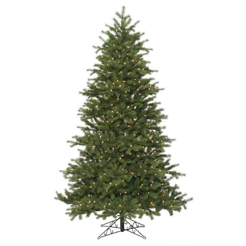 "9.5' x 69"" Redwood Tree 900 Multi Lights UL 3473 Tips"