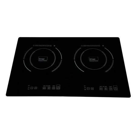 True Induction Double Burner Counter Inset Model Induction (Slide In Induction Range With Double Oven)