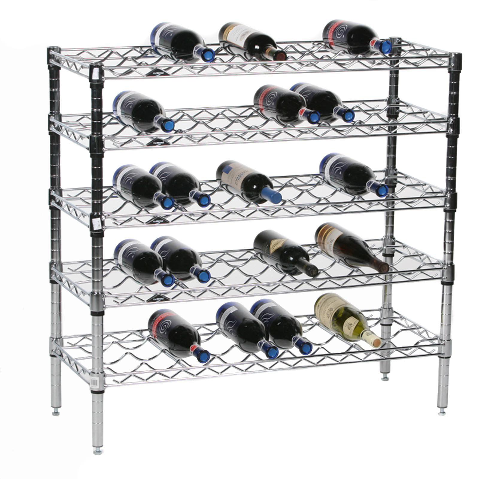 Hardy 45-Bottle Wine Storage