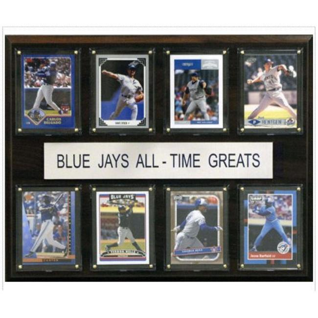 C & I Collectables 1215ATGBJAYS MLB Toronto Blue Jays  All-Time Greats Plaque