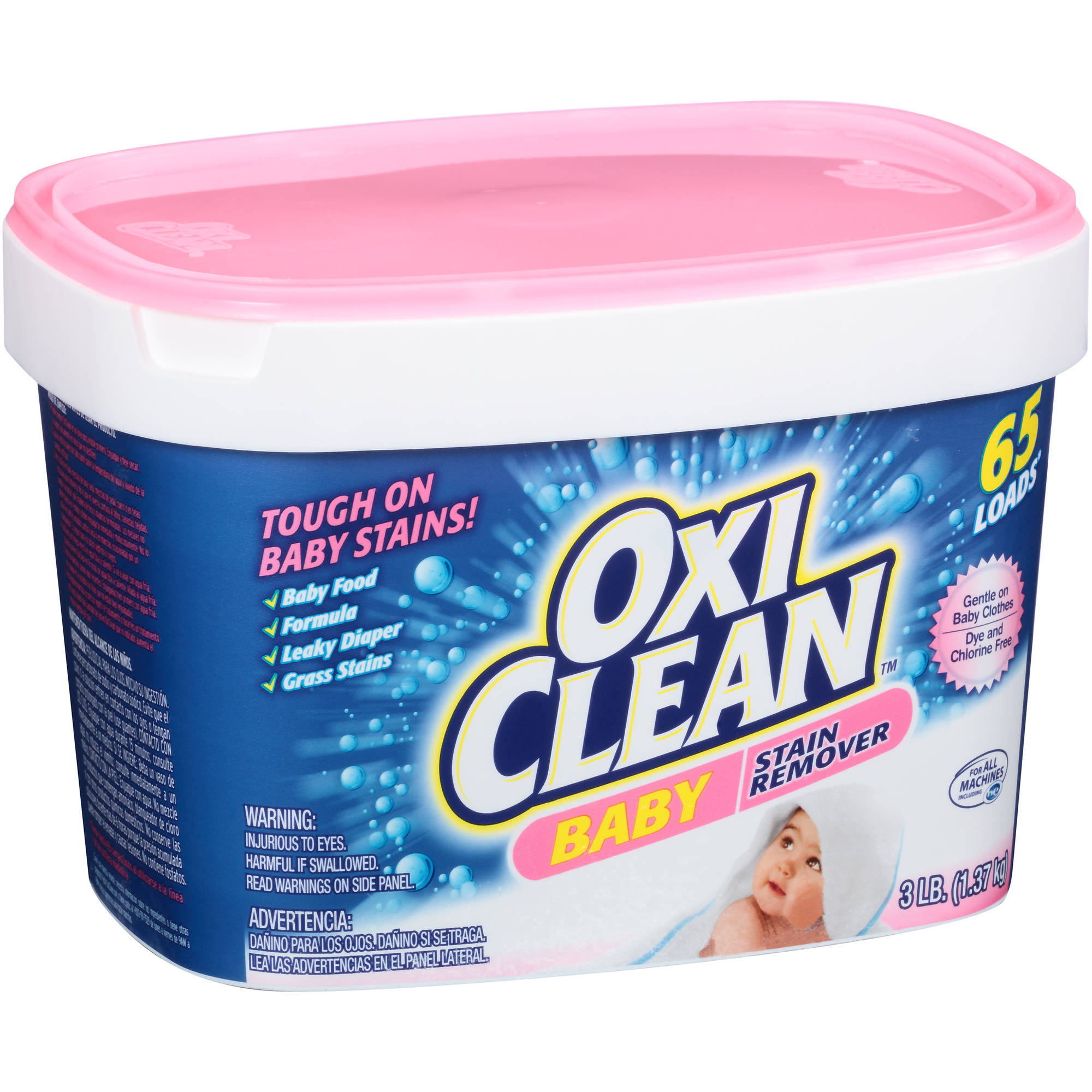 Oxi Clean Baby Stain Remover, 48 oz