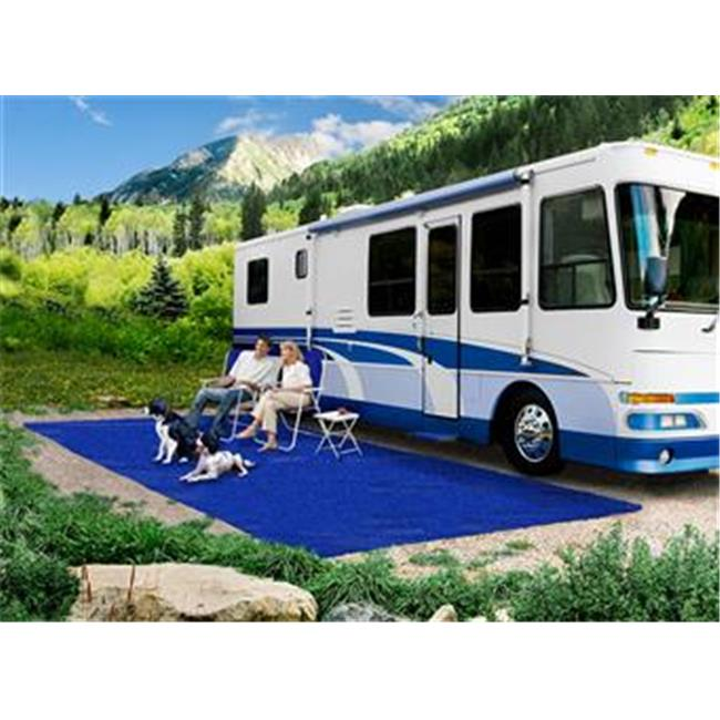 Presto Fit 21151 6 X 15 Ft. Camping Mat - Blue