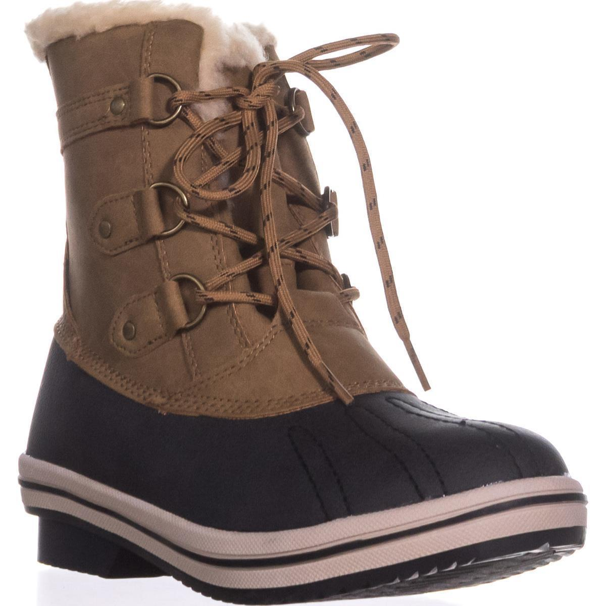 Womens Pawz by Bearpaw Gina Cold-Weather Duck Boots, Hickory by Bearpaw