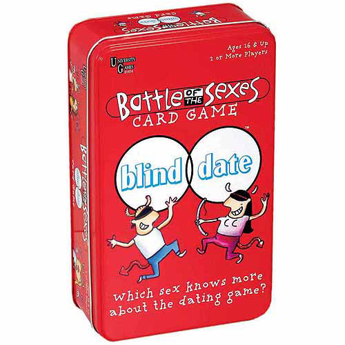 Battle of the Sexes Blind Date Card Game in a Tin