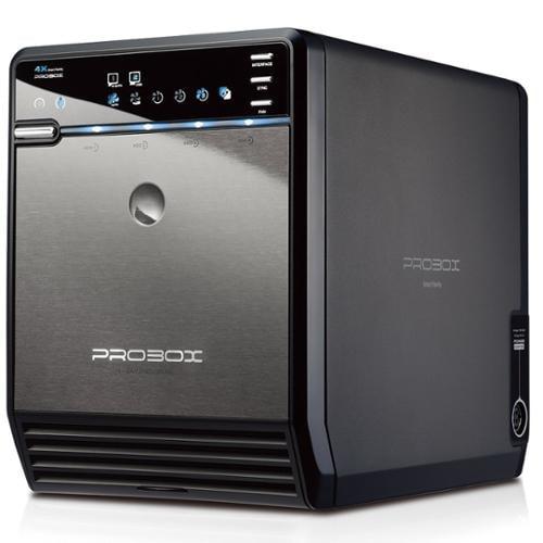 "Mediasonic ProBox HF2-SU3S2 4 Bay 3.5"" SATA HDD Enclosure - USB 3.0 & eSATA Support SATA 3 ..."