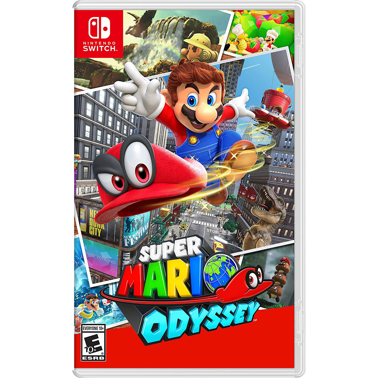 Super Mario Odyssey, Nintendo, Nintendo Switch, [Digital Download], 0004549659170