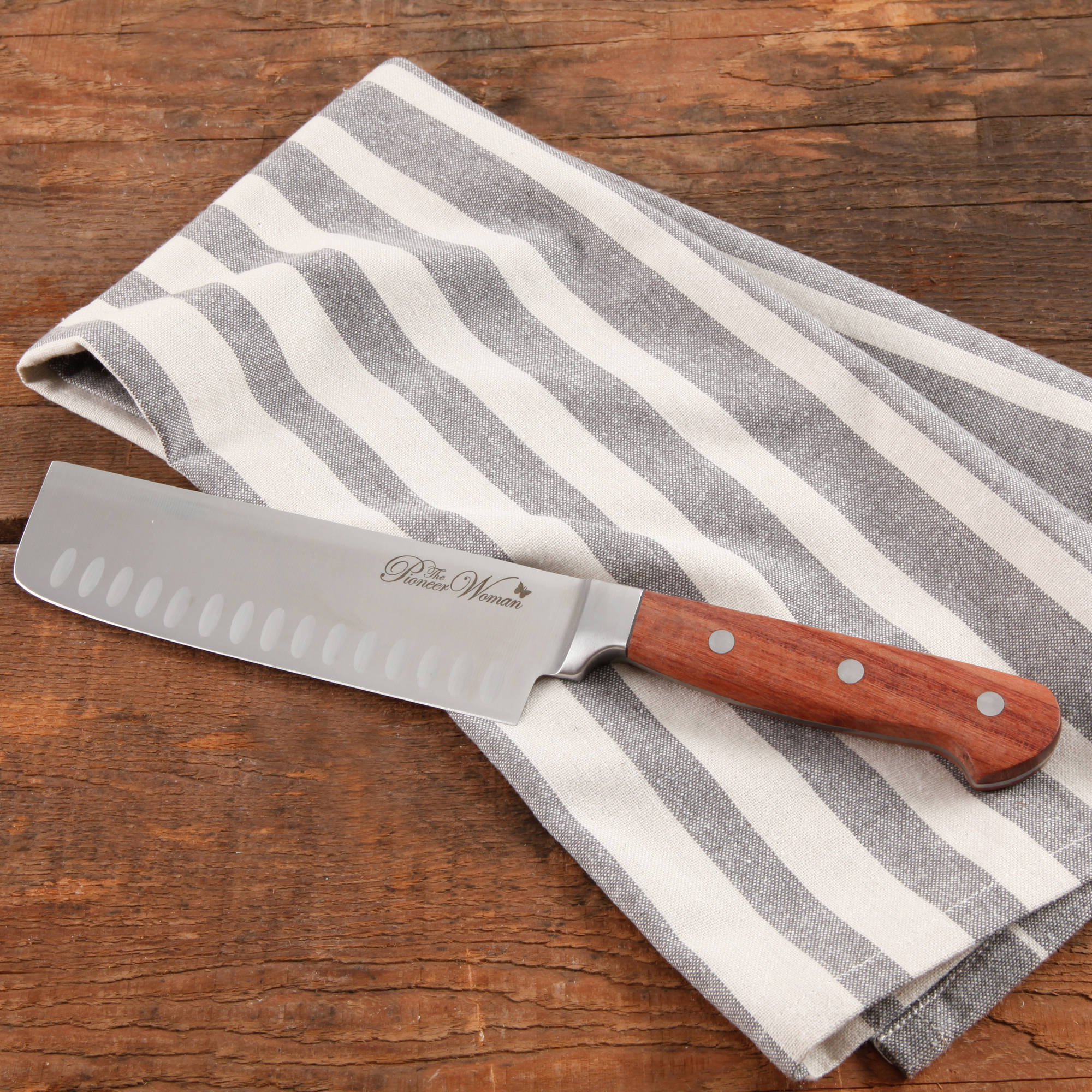 The Pioneer Woman Rosewood Handle Signature Knife