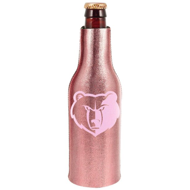 Memphis Grizzlies 12oz. Rose Gold Bottle Cooler