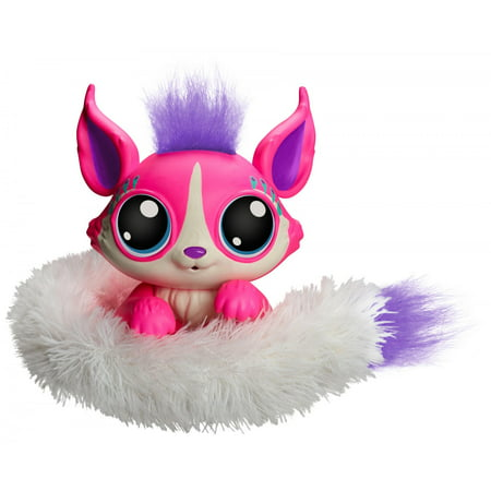 Lil Gleemerz Adorbrite Furry Friend, Light Up Interactive Talking Toy