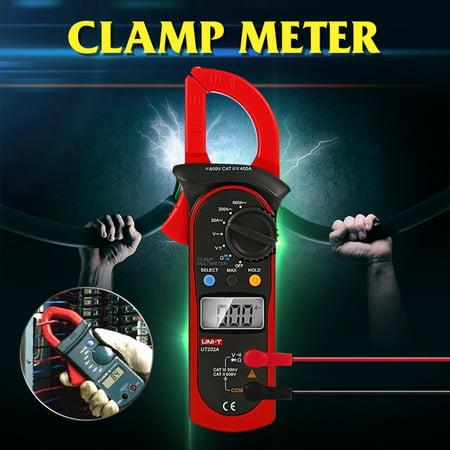 UNI-T UT202A Digital Clamp Meter DC/AC Voltage Current Diode Resistance Tester