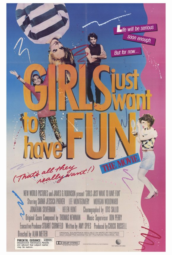 Girls Just Want to Have Fun (1985) 27x40 Movie Poster by Pop Culture Graphics