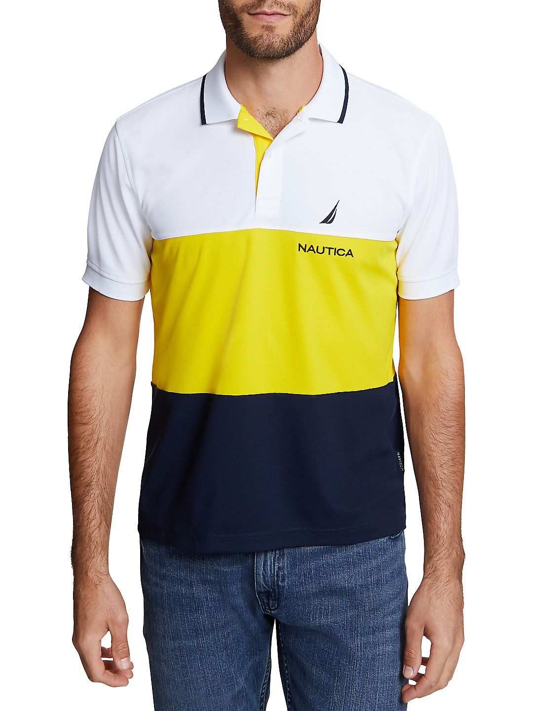 Navtech Colorblock Classic Fit Polo