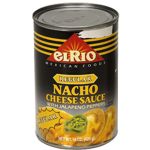 El Rio Regular Nacho Cheese Sauce With Jalapeno, 15 oz (Pack of 12)