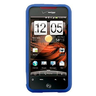 silicone cover - htc incredible - dark blue