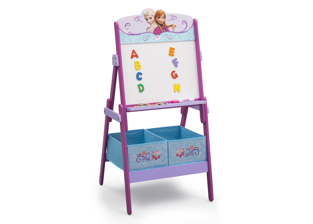 Disney Frozen Anna and Elsa Activity Easel with Storage by Delta Children by Disney