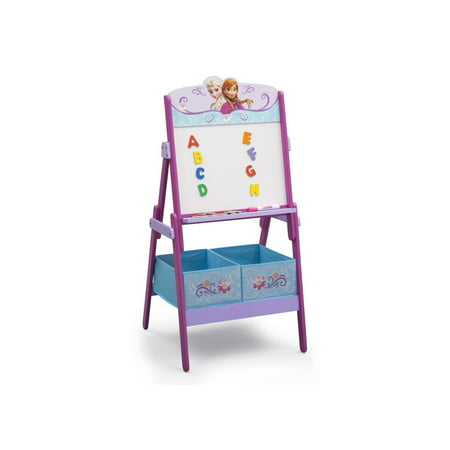Disney Frozen Anna and Elsa Activity Easel with Storage by Delta Children