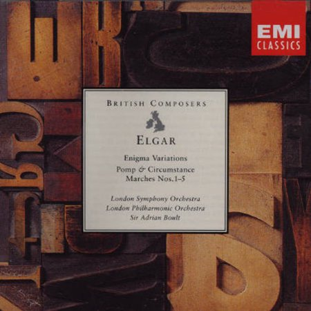ELGAR: ENIGMA VARIATIONS/ POMP & CIRCUMSTANCE MARCHES NOS.