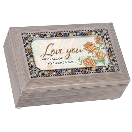 cottage garden pj222gb love you jeweled pewter petite music box. Black Bedroom Furniture Sets. Home Design Ideas