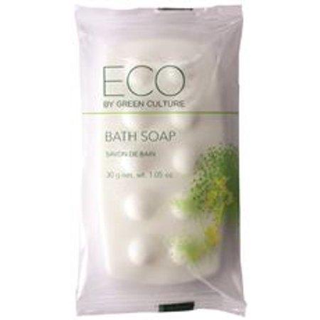 Bath Massage Bar, Clean Scent, 1.06 oz, 300/Carton