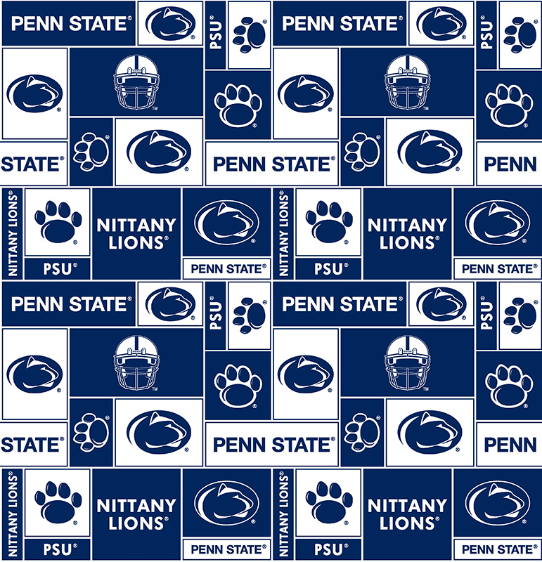 Ncaa Penn State Allover Fleece