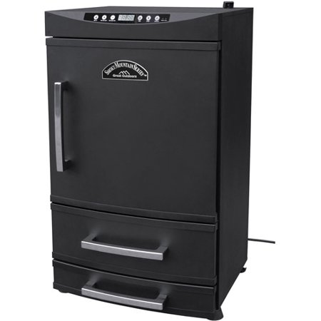 "Smokey Mountain 32"" Electric 2-Drawer Smoker"