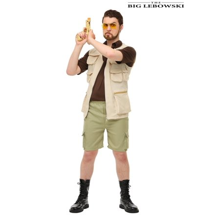 The Big Lebowski Mens Walter Sobchak Costume - Jesus From The Big Lebowski Costume