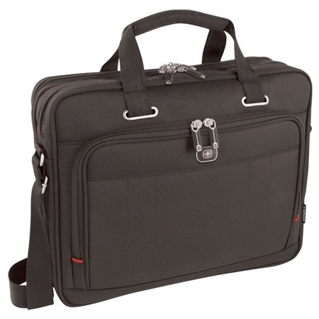 Wenger Acquisition 16 Inch Laptop Briefcase With Tablet Pocket Black