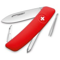 D02 Swiss Pocket Knife Red