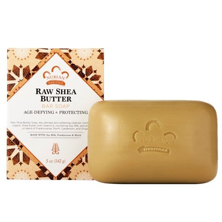 Nubian Heritage Olive - Raw Shea Butter With Frankincense & Myrrh Soap Nubian Heritage 5 oz Bar
