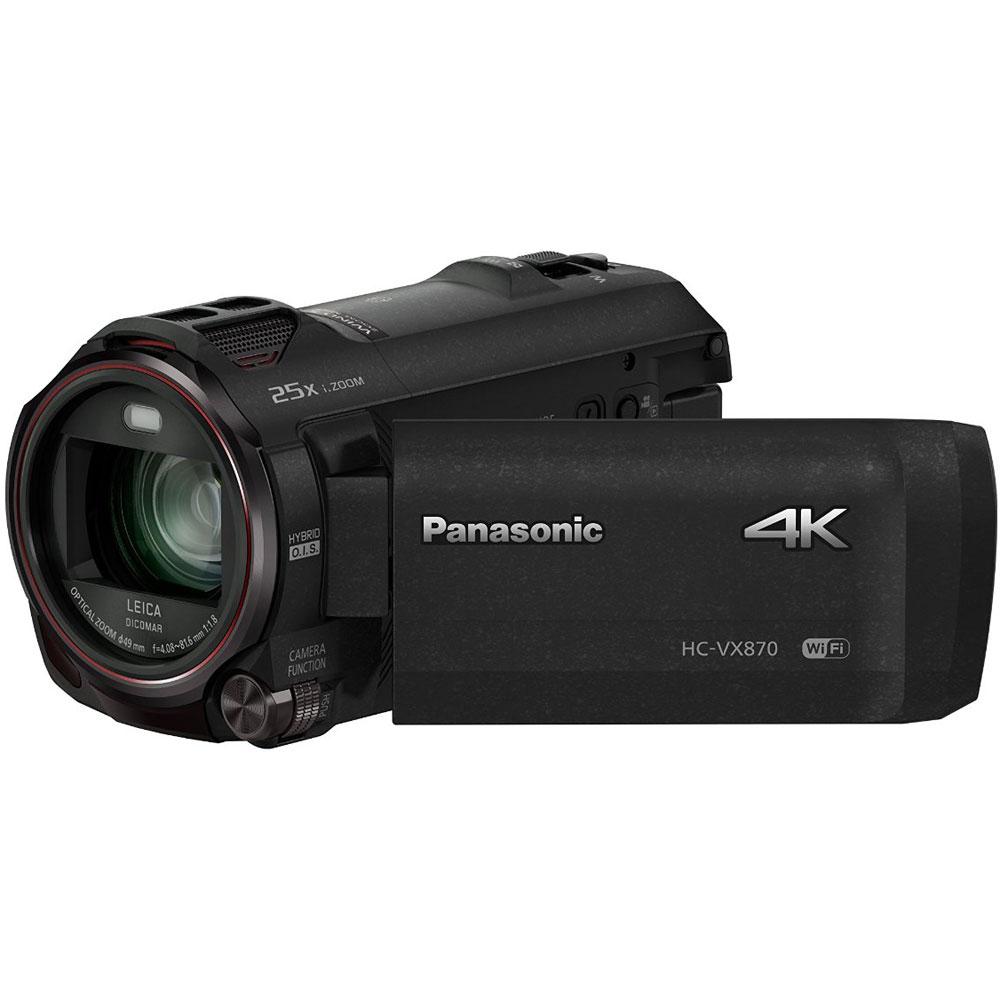 Panasonic HC-VX870K 4K Ultra HD Camcorder w/ Wireless Sma...