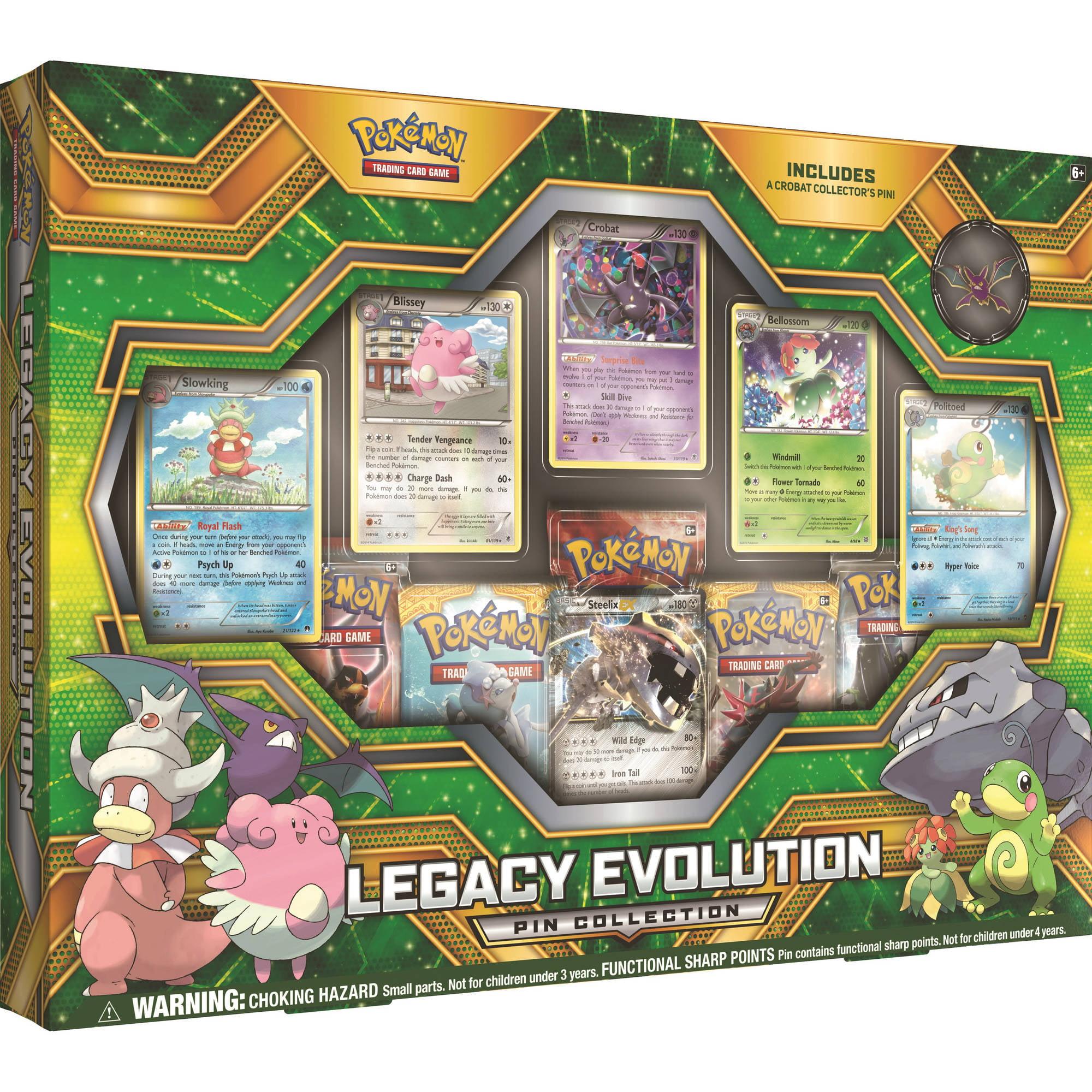 Pokemon Legacy Evolution Pin Collection Box by Pokemon