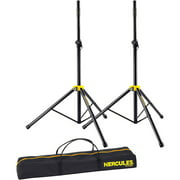Hercules SS200BB 2 Stage Series Speaker Stands with Carrying Bag