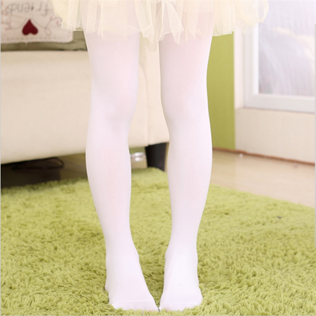 Girls Kids Colorful Candy Footed Stockings Leggings Ballet Dance Tight-Pants Nylon Silk by