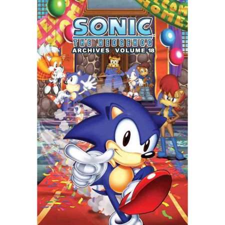 Sonic The Hedgehog Archives 18  Archives