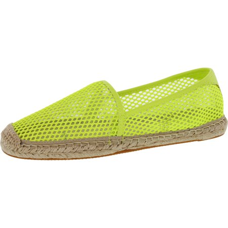Rebecca Minkoff Women's Ginny Chartreuse Ankle-High Mesh Flat Shoe - 6.5M