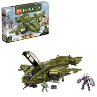 Deals on Mega Construx Halo Infinite Pelican Inbound Building Block Toy