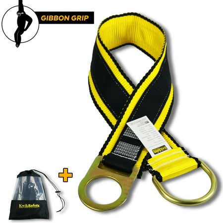 Choker Anchor Sling (KwikSafety GIBBON GRIP 3 ft. Fall Protection Anchor Choker ANSI Cross Arm Strap )