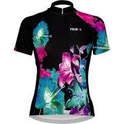 Primal Wear Mahalo Women's Cycling Jersey: Black/Blue/Pink, XL