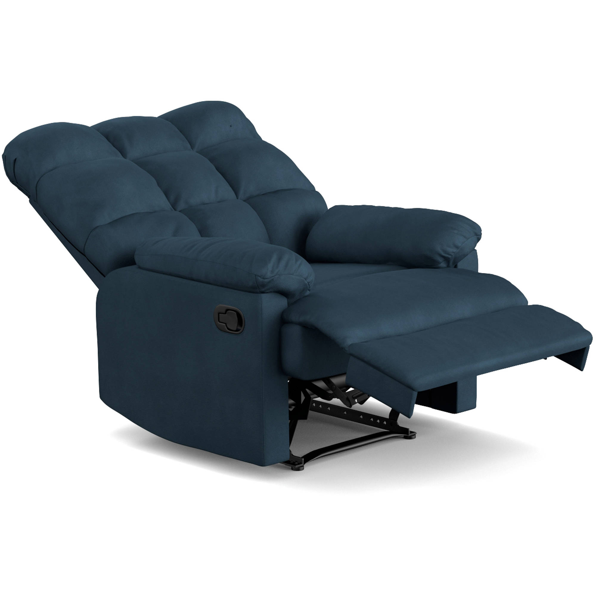 Mainstays Baja Wall Hugger Microfiber Biscuit back Recliner Chair Multiple Colors - Walmart.com  sc 1 st  Walmart : lazy boy owen recliner - islam-shia.org