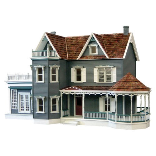 Real Good Toys Harborside Dollhouse Mansion with Curved Stairs