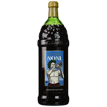 The Original Authentic TAHITIAN NONI® Juice by Morinda (Single 1 Liter Bottle) - 34 fl (Tahitian Noni Raspberry)