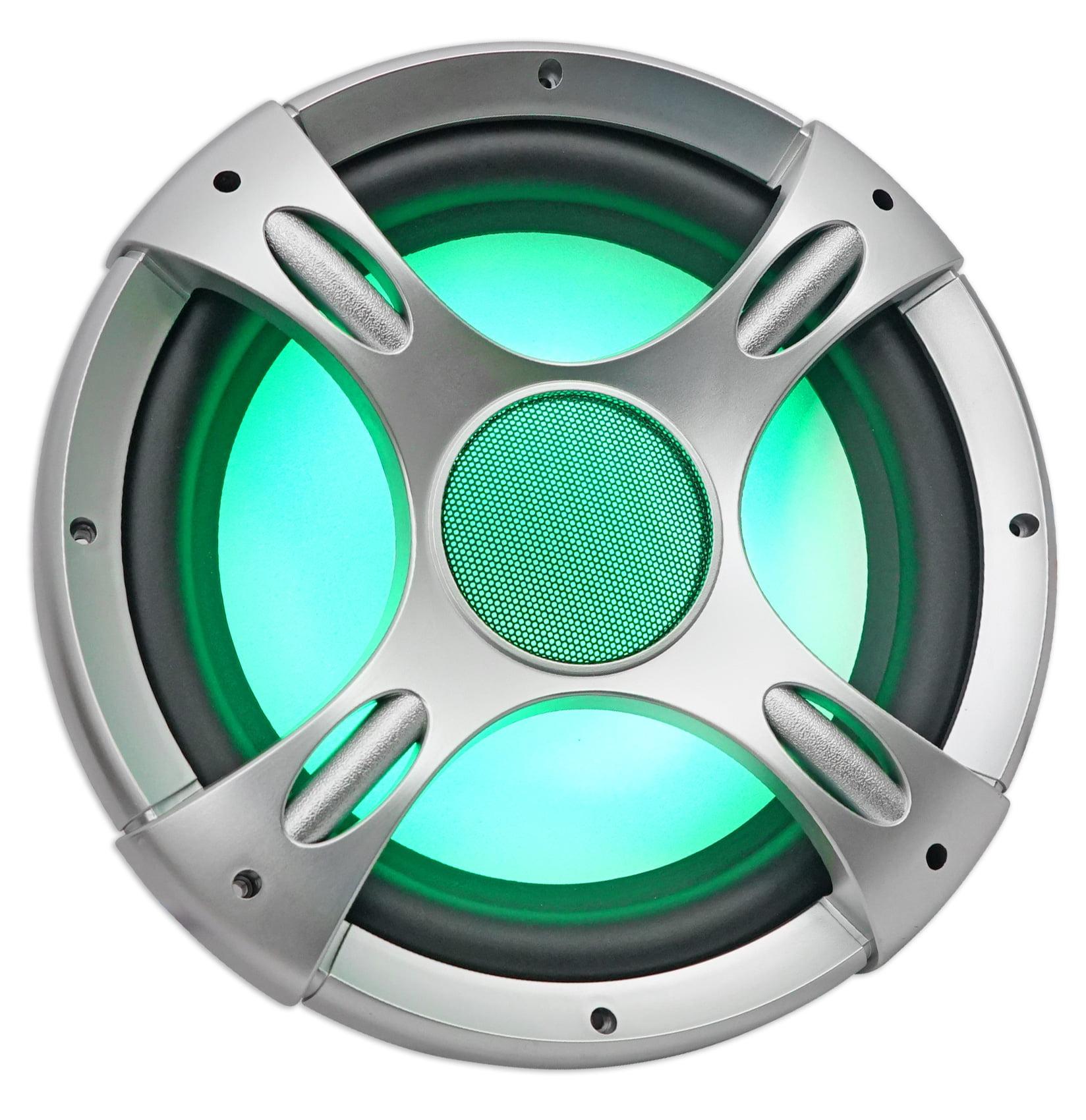 "NYC Acoustics NC12S4 3200w 12/"" 4 Ohm Car Audio Subwoofers w// LED Sub Grilles 2"