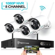 HeimVision HM241 Wireless Security Camera System, 8CH 1080P NVR System 4pcs 960P 1.3MP WIFI IP Security Surveillance Cameras