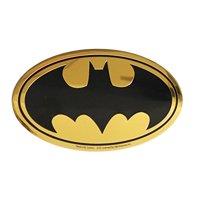 C&D Visionary DC Comics Batman Logo 12cm Gold Metal Sticker